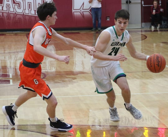 Clear Fork's Brennan South was selected first team All-Mansfield News Journal.
