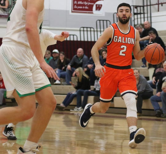 Galion's Isaiah Alsip was named Special Mention All-Ohio by the Ohio Prep Sportswriters Association.