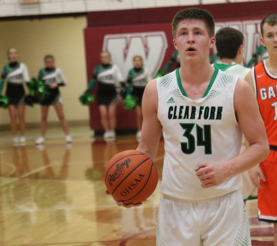 Clear Fork's Ethan DeLaney was named third team All-Mansfield News Journal.