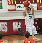 Clear Fork's Brennan South did a little bit of everything in the Colts' win over Galion on Tuesday.