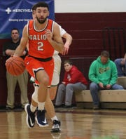 Galion's Isaiah Alsip saw his high school basketball career come to an end on Tuesday in a loss to Clear Fork.