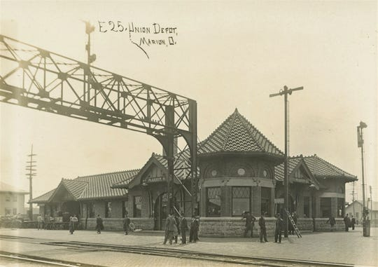 Marion Union Station – Opened in 1902.