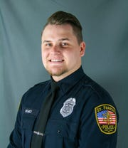 Officer Kyle Holmes with the St. Francis Police Department