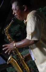 Coleman Woodson Jr. will play the sax with his Coleman Woodson Group on Saturday at the City of St. Jude in Montgomery.