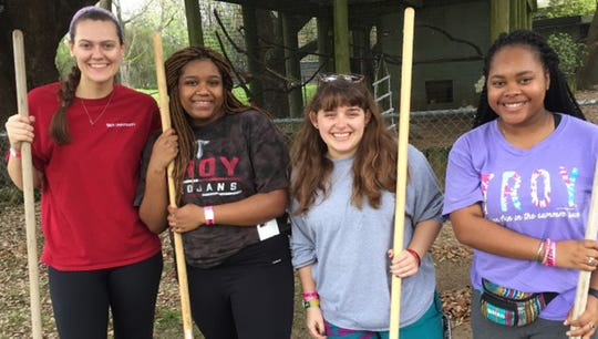 Saturday is Zoo Serve Day at the Montgomery Zoo.