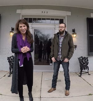 """Gallatin Mayor Paige Brown with Sumner County Museum Executive Director Ryan Baker were part of a video submitted to HGTV to be considered for a future show named """"Home Town Takeover."""""""