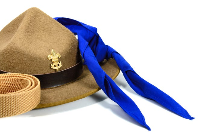 Boy Scouts to be honored at luncheon.