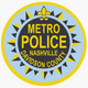 Metro Nashville Police Department Badge