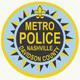 Metro Nashville Police Department Badge