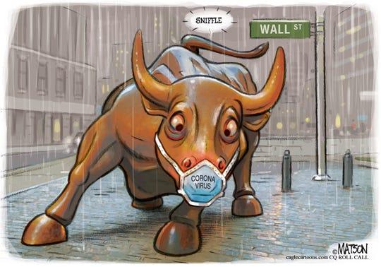 Coronavirus affects bull market.