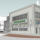 A rendering of the Sullivan Building on the corner of West Main and North Third streets as it will appear when restoration is completed.