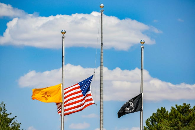 Veterans Memorial Park is pictured in Las Cruces on Tuesday, July 30, 2019.