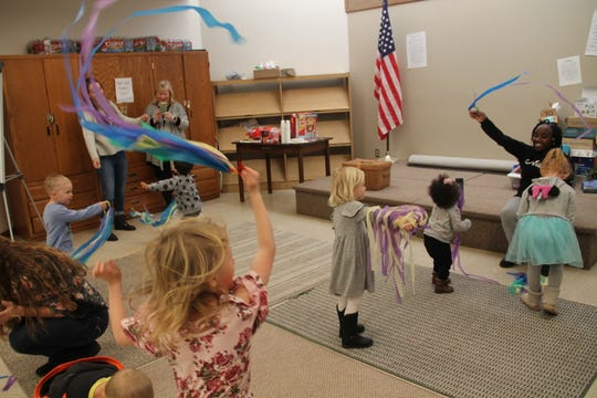 Alamogordo Public Library hosted their weekly story time Wednesday morning Feb. 26 where they celebrated National Dance Day.