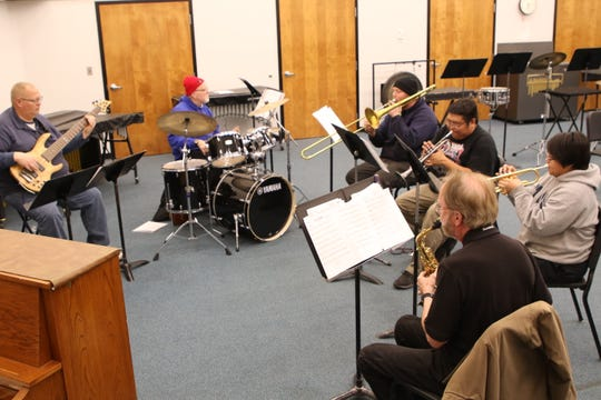 The San Juan College Jazz Combo will perform during the Feb. 28 Jazz Festival in the LIttle Theatre on the college campus in Farmington.
