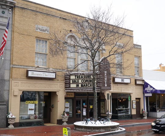 Northville's Marquis Theatre, at 135 E. Main, will hold a sale of some of its furnishings in March of 2020.