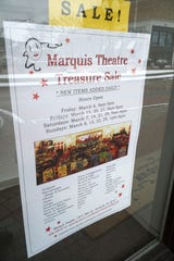 Northville's Marquis Theatre will hold a sale of some of its furnishings in March of 2020.