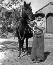 Jane Lykken Hoff, the mother of all Palm Springs equestrians, was there at the founding of Desert Riders and would lead them through the 20th century.