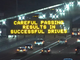 ADOT again delivered a clever message to Phoenix-area drivers headed to the Arizona Cardinals' Thursday Night Football game in Glendale on Nov. 9, 2017.