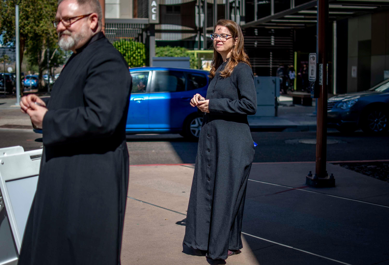 Ash Wednesday celebrated around downtown Phoenix