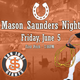 Mason Saunders is the rodeo alias of Arizona Diamondbacks pitcher Madison Bumgarner.