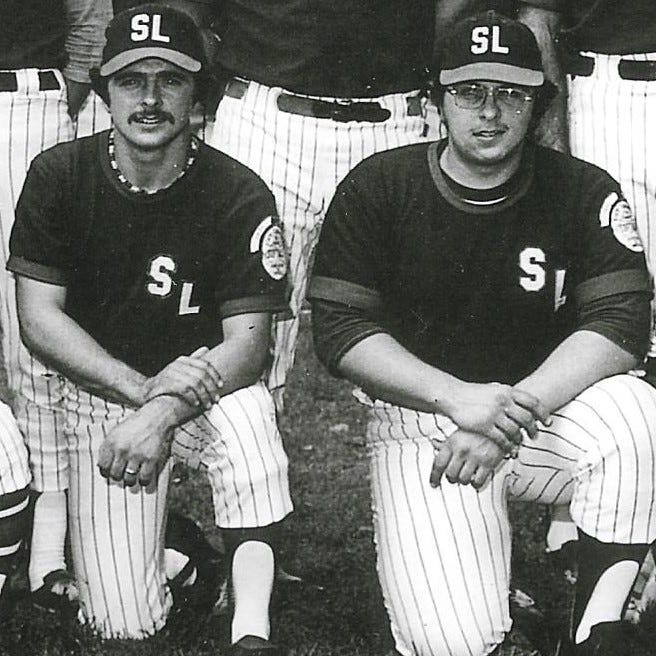 Fastpitch softball playing brothers, Lee, left and Irv Lutz will be inducted into the ASA Hall of Fame next week, adding another honor to their incredible Lebanon County softball legacy.