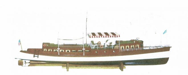 In 1906, Scott J. Matthews designed and built this 70-foot yacht capable of taking him, his family of four and two others on a 9,000-mile voyage.