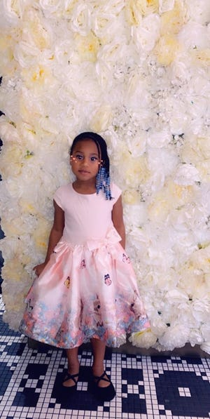 Weather permitting, 5-year-old Julene Scales will fly from Georgia to Michigan to perform at the Collections in Black event at Port Huron Museum on Feb. 29, 2020.