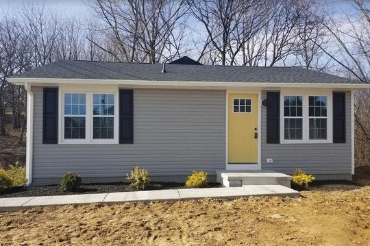 This home at 471 W. Fourth St. in Waynesboro has been renovated by Oak Mill Holdings LLC.