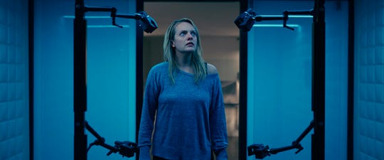 """Elisabeth Moss stars in """"The Invisible Man."""" The movie opens Thursday at Regal West Manchester, Queensgate Movies 13 and Hanover Movies 16."""