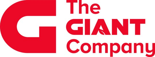 Giant announces new logo on Wednesday, Feb. 26, 2020.