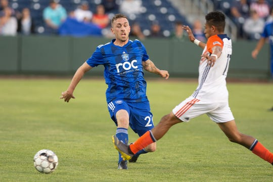 Reno 1868 FC plays San Diego Loyal at noon Saturday.