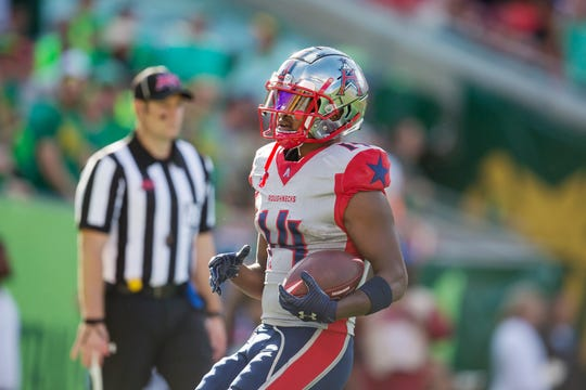 Ex-Bills wide receiver Cam Phillips is one of the early stars in the XFL as he has scored seven touchdowns in three games.