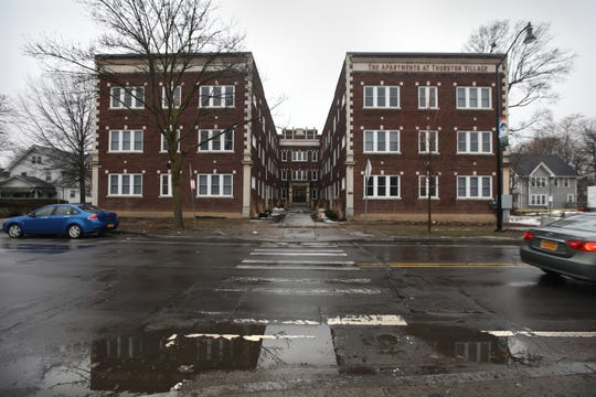 The Apartments at Thurston Village at 447 Thurston Road in Rochester Wednesday, Feb. 26, 2020.
