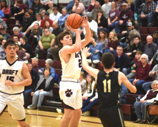 Stuarts Draft's Mark Rodgers leads a balanced scoring attack for the Cougars.