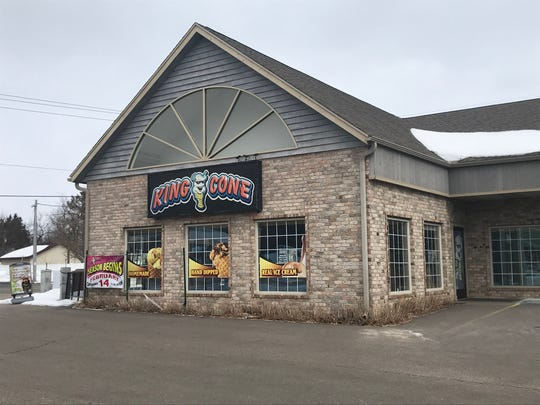 King Cone, 2534 Post Road in Plover