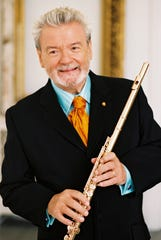Sir James Galway will perform at Ruby Diamond Concert Hall on Thursday as part of Opening Nights.
