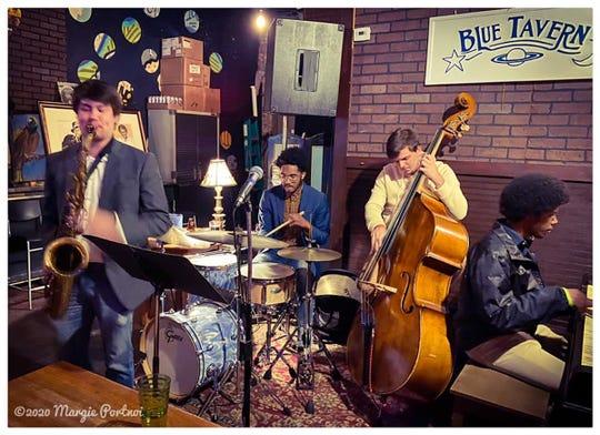 Kai Hammond Quartet, paving the way at 8 p.m. Tuesday at Blue Tavern, 1206 N. Monroe St.