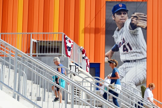 As spring training for the New York Mets gets underway, fans are experiencing a $57 million renovation of Clover Park, formerly First Data Field, for the new season. New seating, restrooms, concessions and a viewing deck in left field are part of the new additions.