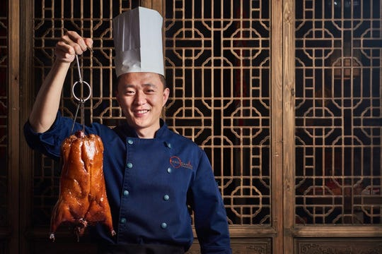 Chef Eric Gao of O Mandarin in Hartsdale.