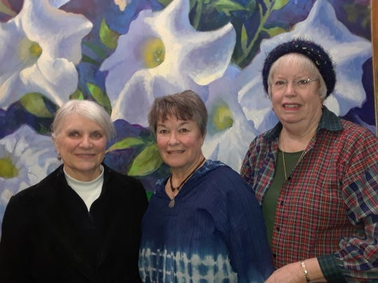 Contest winners for the January 2020 poetry competition in the Wichita Falls Poetry Society have been announced. Contest winners were, left to right, Rosellen Sheetz (third place), Geneva Rodgers (first place), and Linda Smith (second place).