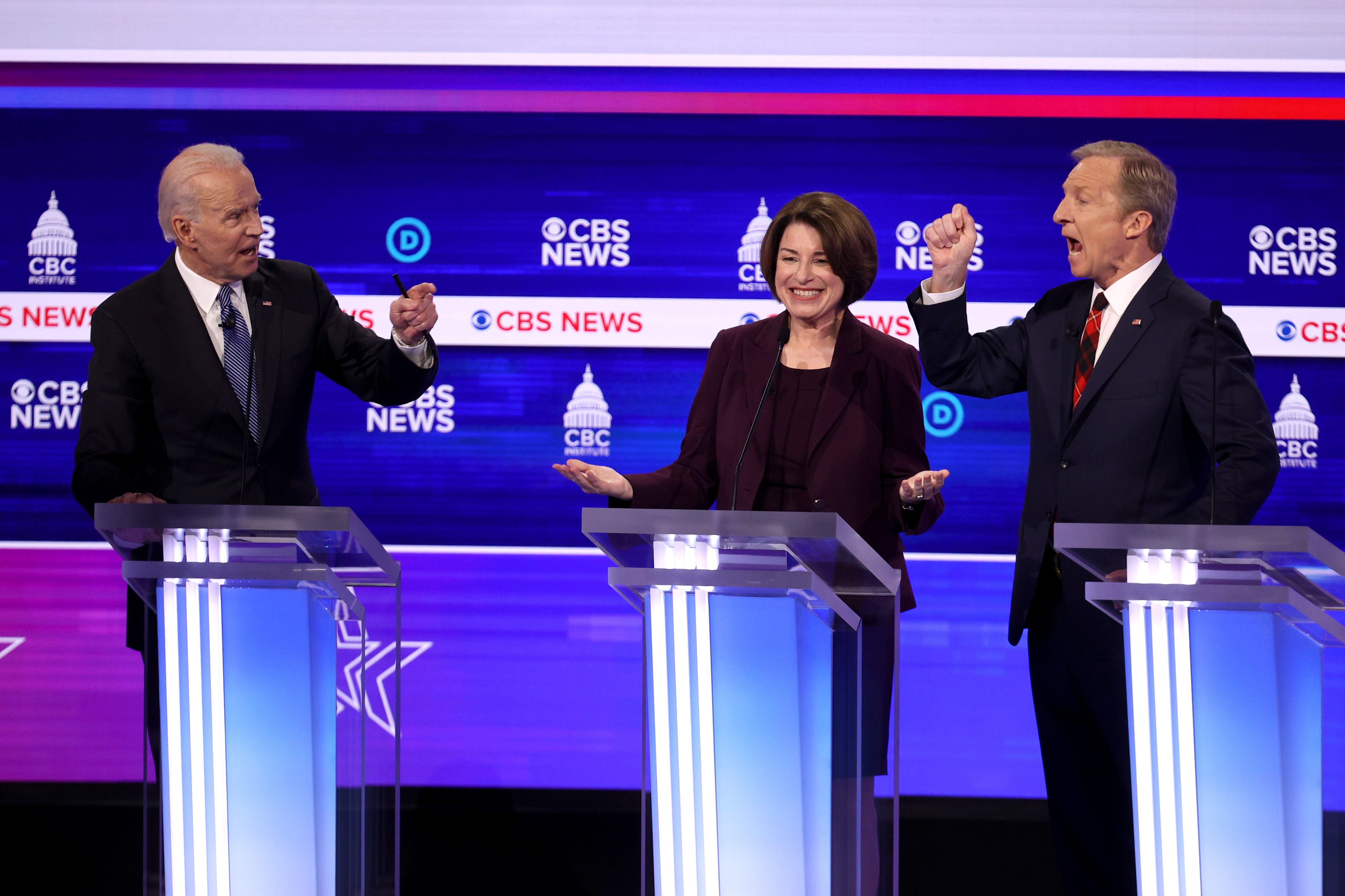 Hearing my name mentioned a little bit : Sanders plays defense and other moments from the South Carolina Democratic debate