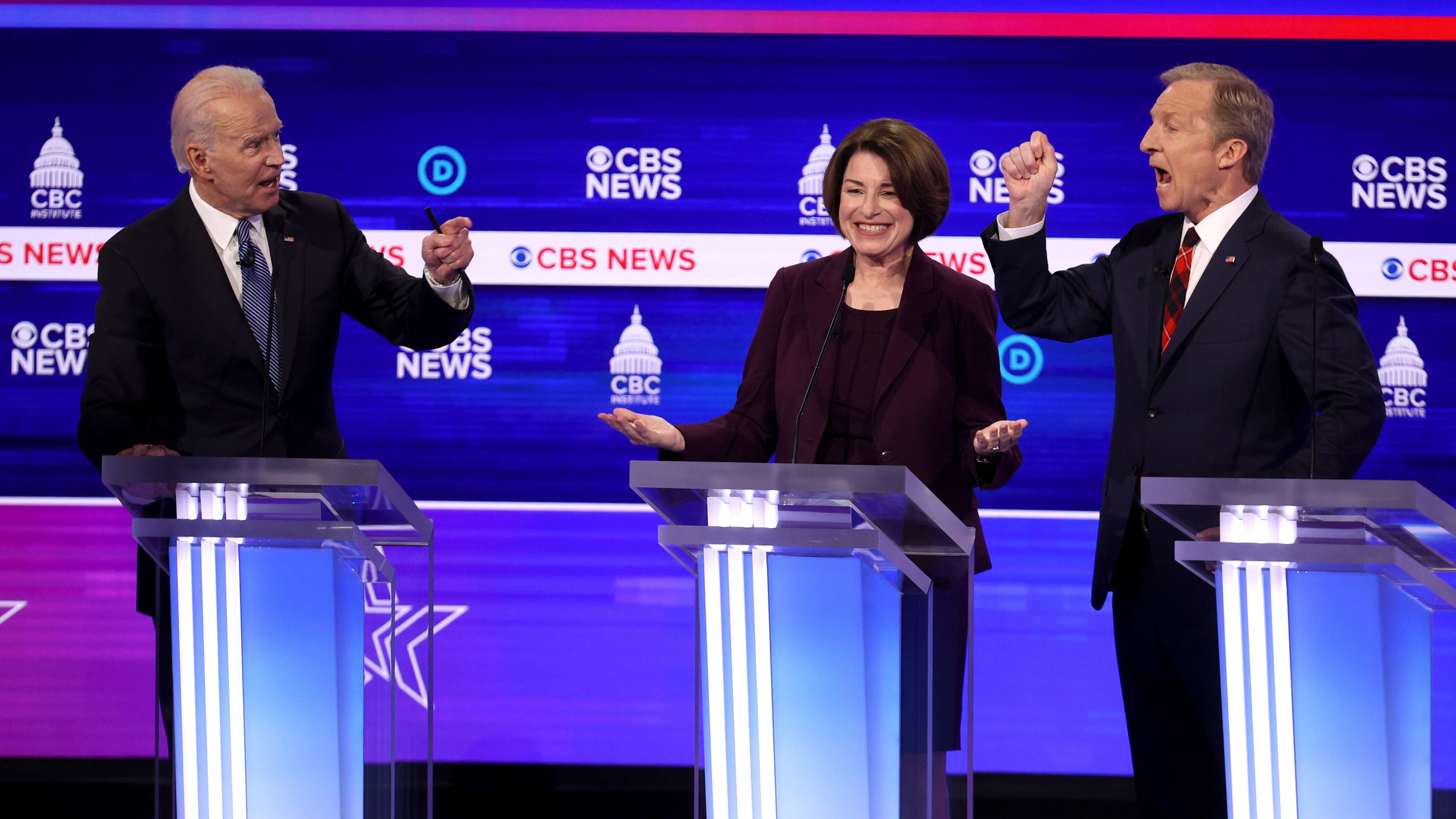 'Hearing my name mentioned a little bit': Sanders plays defense and other moments from the South Carolina Democratic debate thumbnail