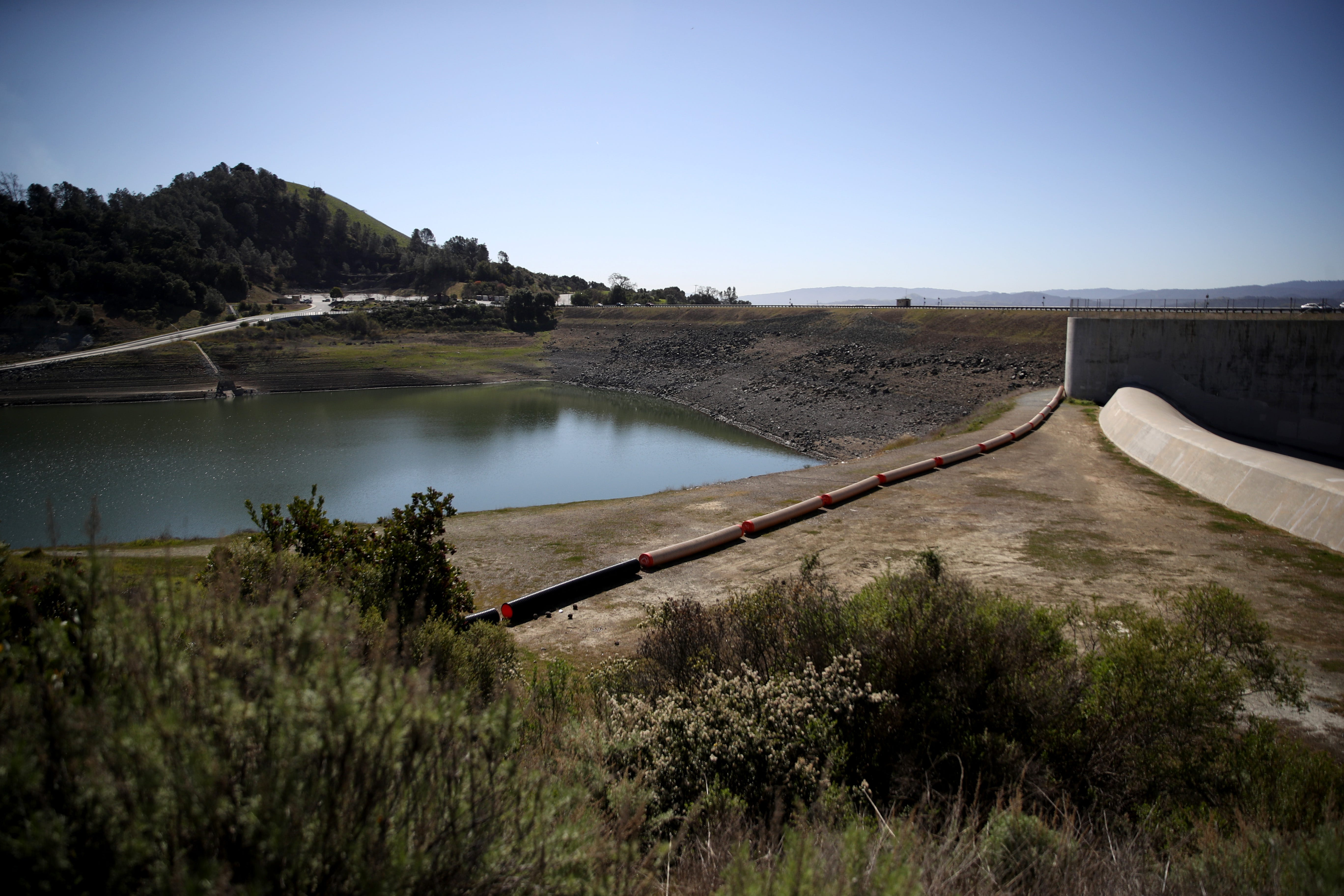 With California nearing drought, reservoir near San Jose ordered to be drained. Here s why