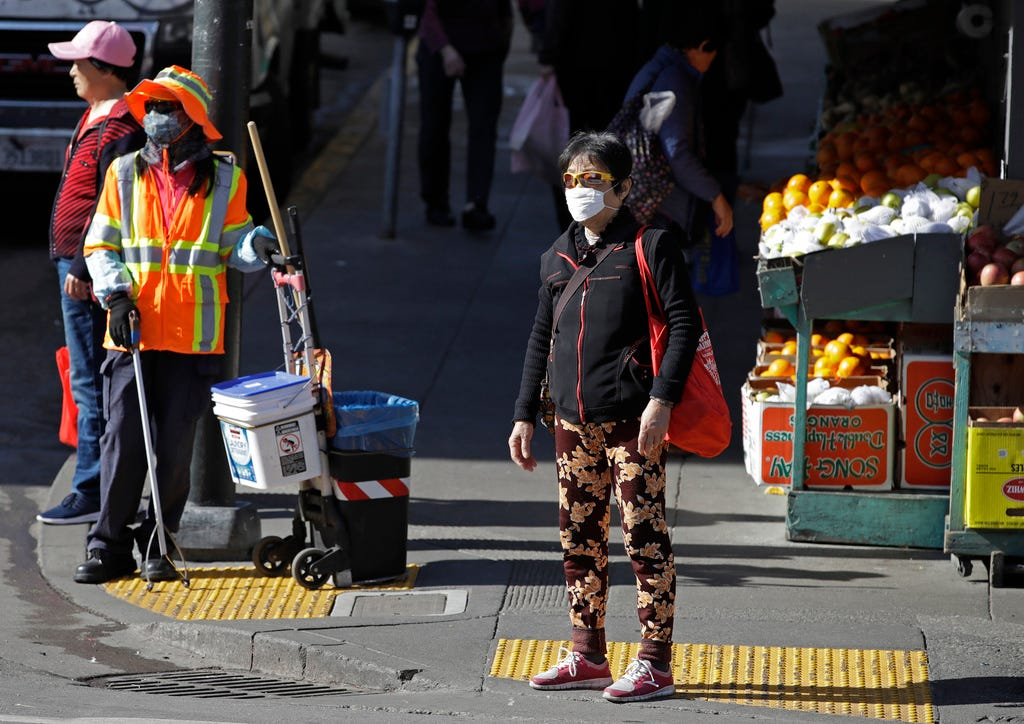 San Francisco, Orange County declare coronavirus health emergencies