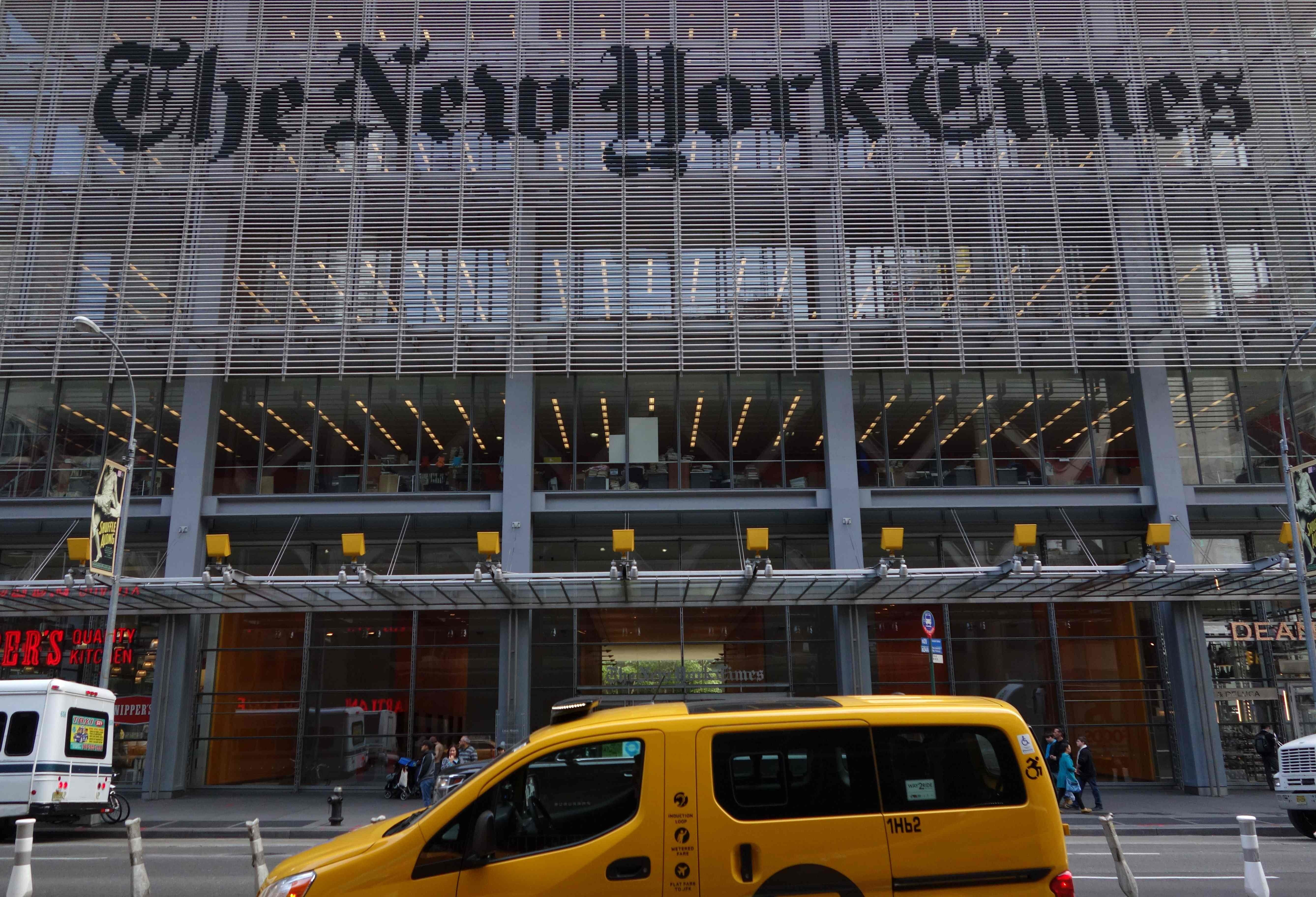 Trump campaign sues New York Times in libel lawsuit involving opinion piece on Russia
