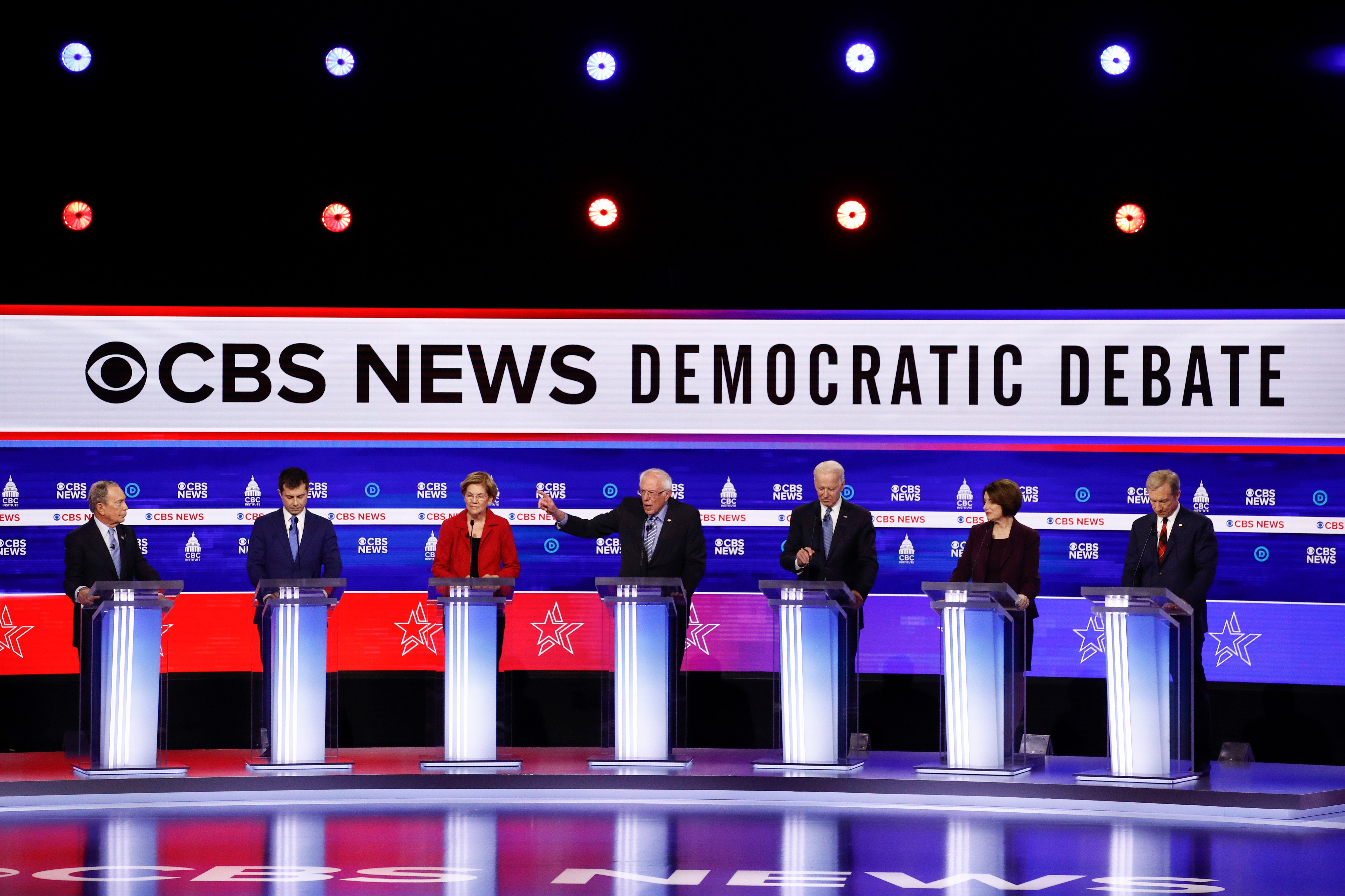 Democratic debate kicks off with questions of who Russia wants for president  - updates