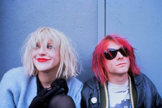 Courtney Love and Kurt Cobain were married in 1992. Cobain died two years later.