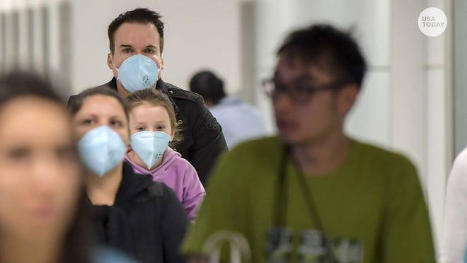 coronavirus risk in usa