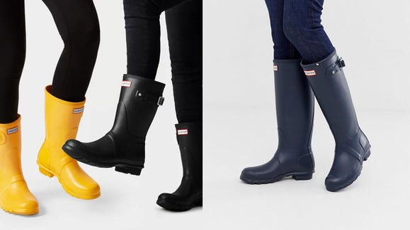 There's a crazy one-day sale on Hunter rain boots today