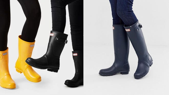 Snag these coveted Hunter wellies at an all-time low price.